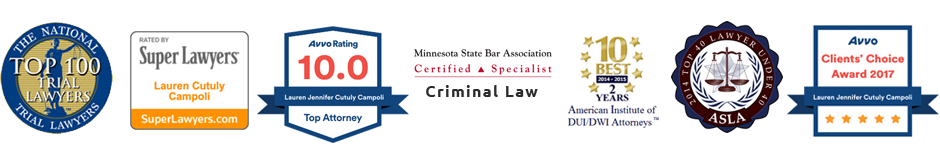 Lauren Campoli top rated criminal defense lawyer in Minneapolis, MN
