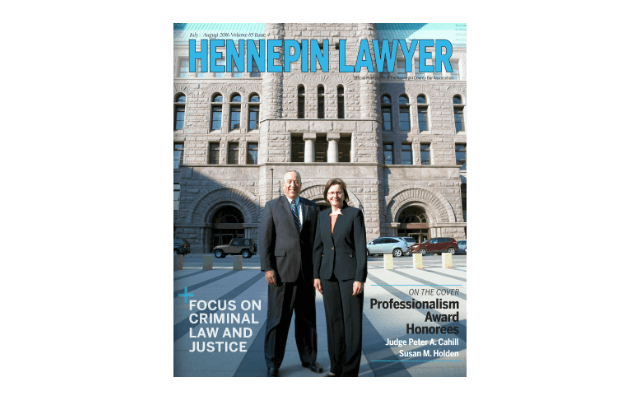 Hennepin Lawyer magazine